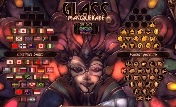 Glass Masquerade タイトル画面
